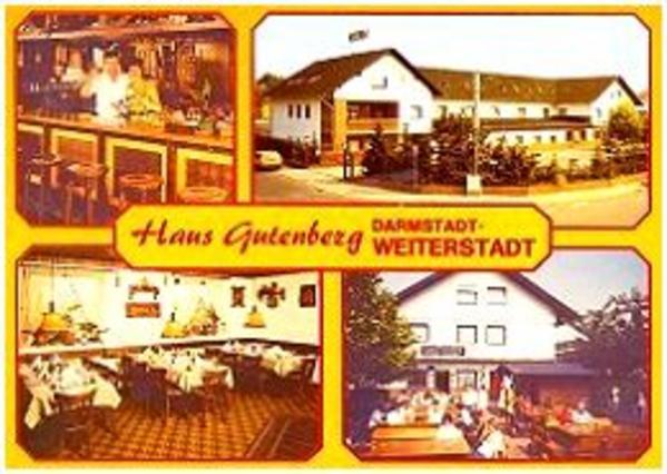 Hotel & Gaststätte Haus Gutenberg - Logo