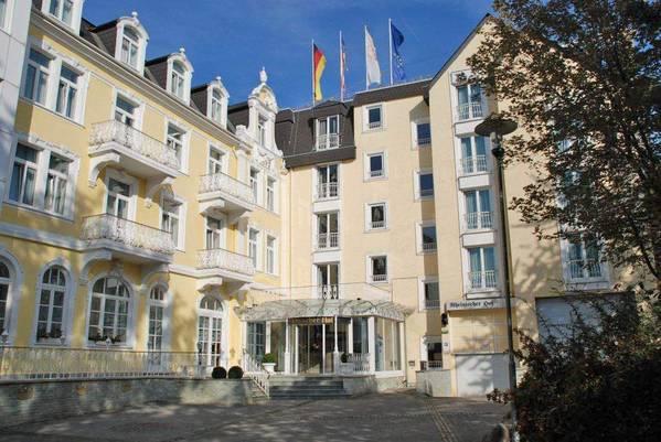 Hotel Rheinischer Hof - Vista externa