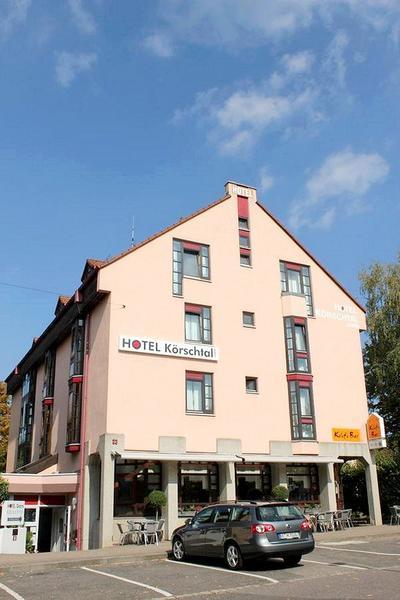 Hotel garni Körschtal - Outside