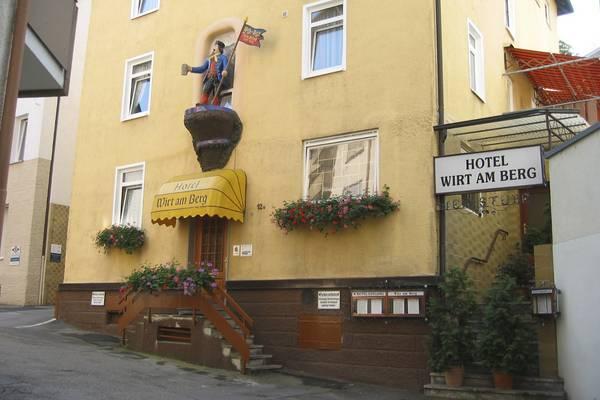 Hotel Wirt am Berg - Vista externa