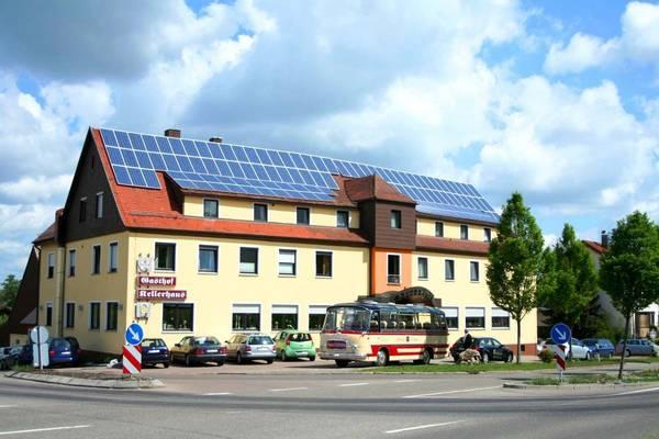 Gasthof · Hotel Kellerhaus Oberalfingen - buitenkant