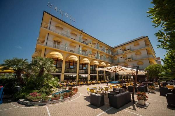 Hotel Savoia - pogled od zunaj