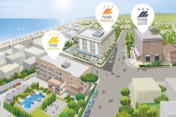Hotel Conti - План