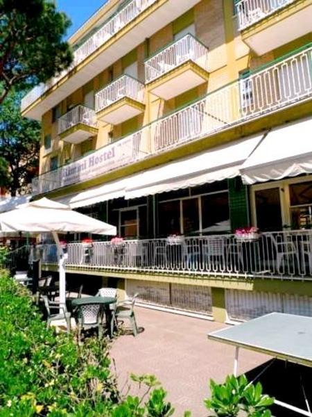 Hotel Benvenuti Rimini - Aussenansicht