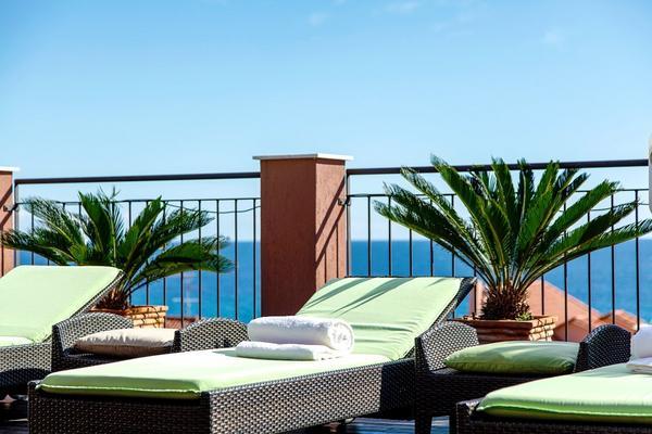 Hotel Rosa - Terrasse
