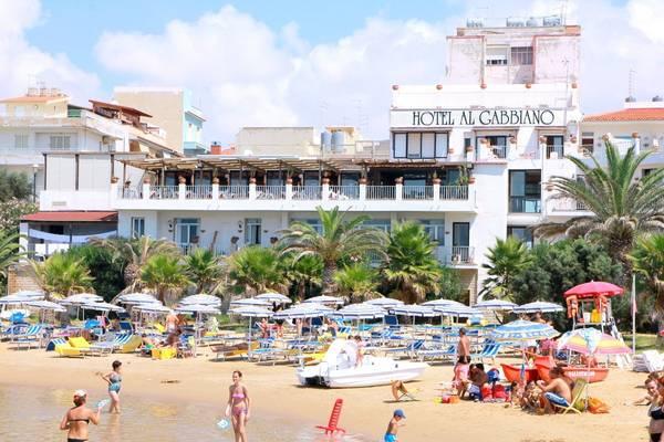 Al Gabbiano Hotel Sul Mare - Aussenansicht