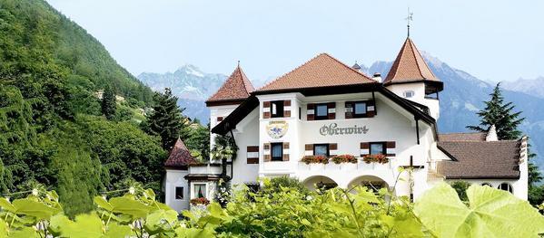 Romantik Hotel Oberwirt - Aussenansicht