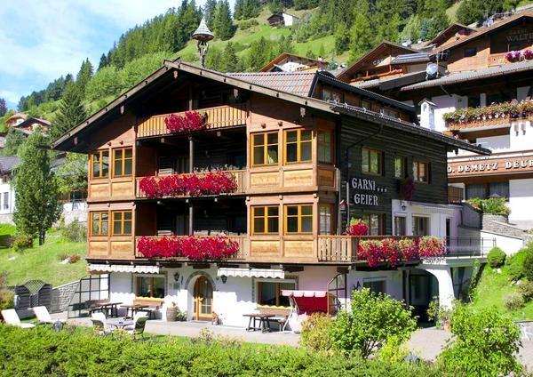Garni-Hotel Geier - pogled od zunaj