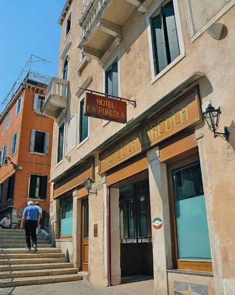 Hotel La Forcola - Вид снаружи