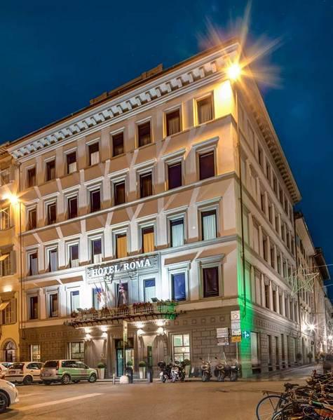 Hotel Roma - Vu d'extérieur