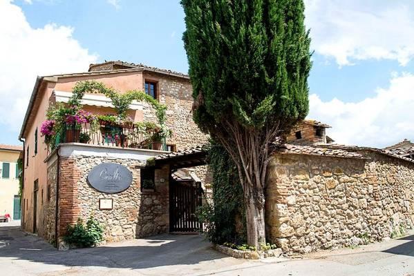 Hotel Albergo Casalta - pogled od zunaj