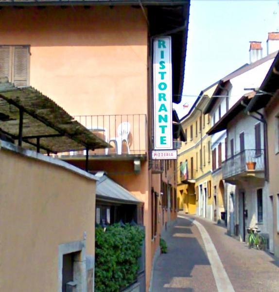 Hotel Pavone Ristorante La Vecchia Angera - Вид снаружи