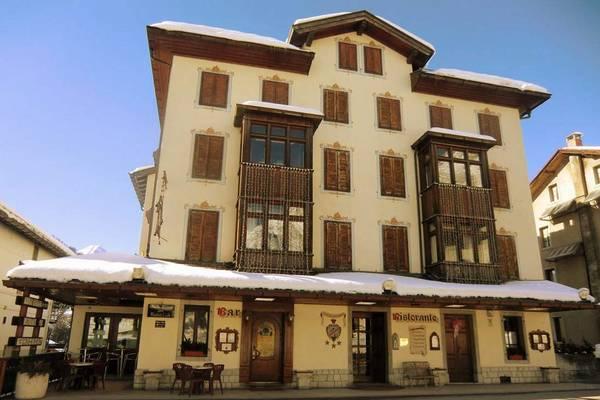 Hotel Alemagna - buitenkant