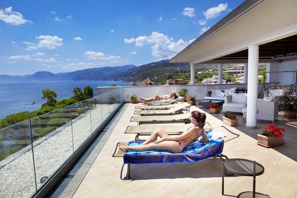 Hotel Cala Luna - Terrass