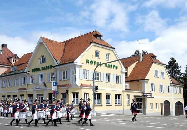 Hotel Hasen - Вид снаружи