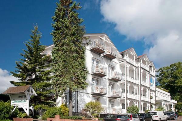 Hotel Stranddistel - Aussenansicht