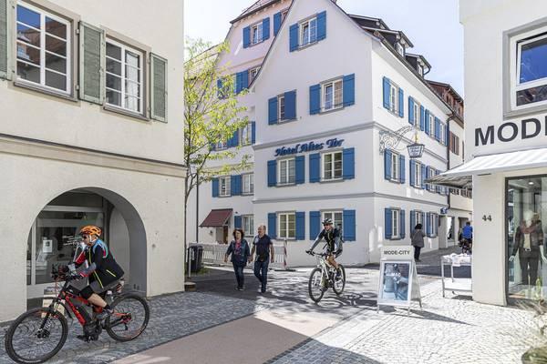 Hotel Grüner Baum - Aussenansicht