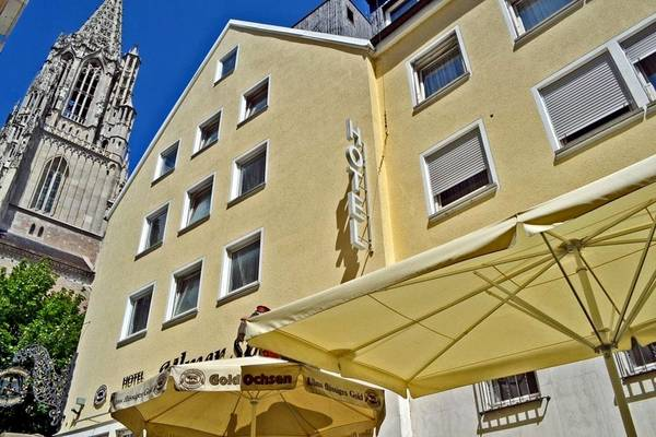 Hotel Ulmer Spatz - Outside