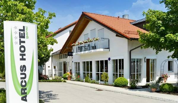 Arcus Hotel Garni - buitenkant