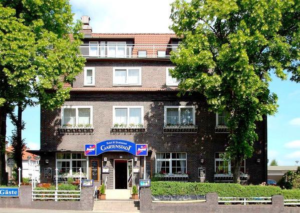 Hotel Gartenstadt - pogled od zunaj