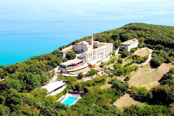 Hotel Monteconero - Badia di San Pietro - Aussenansicht
