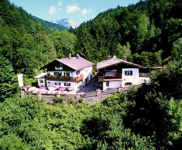 Café Pension Etzerfelsen - Aussenansicht