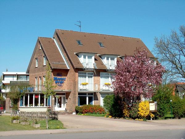 GarniHotel Meereswoge & Gästehaus Seewind - pogled od zunaj