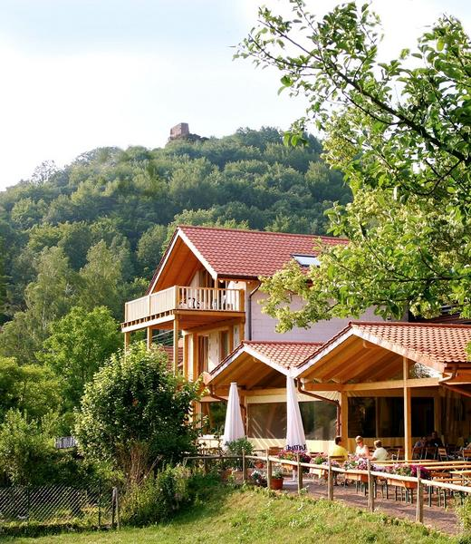 Wanderheim Cramer-Haus Lindelbrunn - Vista al exterior