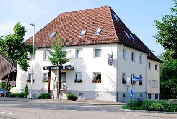 Hotel-Restaurant Krone Odelshofen - pogled od zunaj