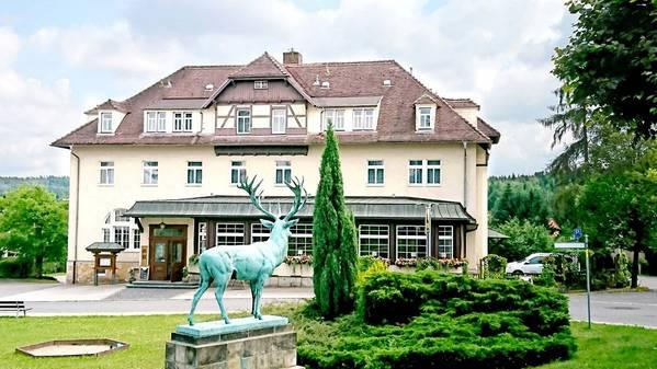 Parkhotel Forsthaus - Aussenansicht