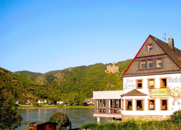 Weinhotel Landsknecht Sankt Goar - Gli esterni
