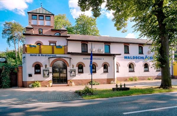 Hotel Waldschlösschen - pogled od zunaj