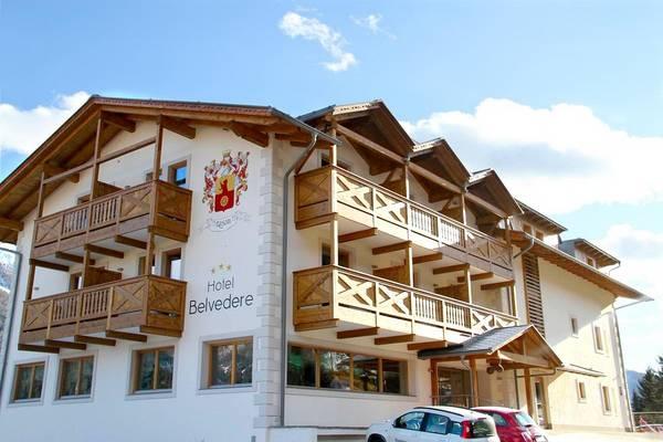 Hotel Belvedere - Vista externa