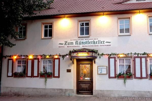 Hotel Altdeutsche Weinstuben - Zum Künstlerkeller - Aussenansicht