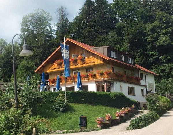 Pension Cafe Waldrast - buitenkant