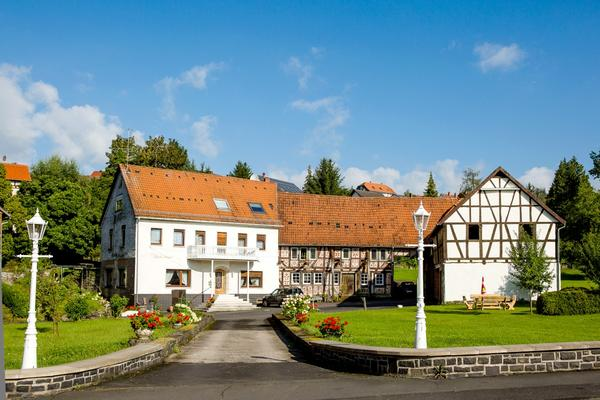 Hotel-Pension Alte Mühle - Outside