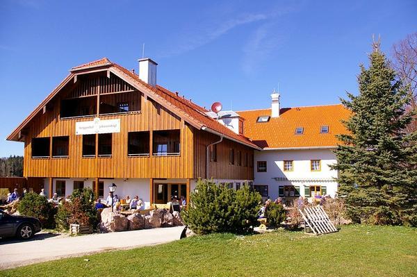 Berggasthof Johannishögl - pogled od zunaj