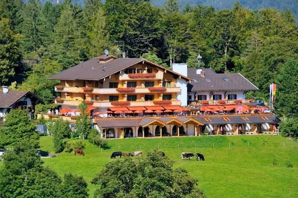 Alpengasthof Gröbl-Alm 1010m - Vista al exterior