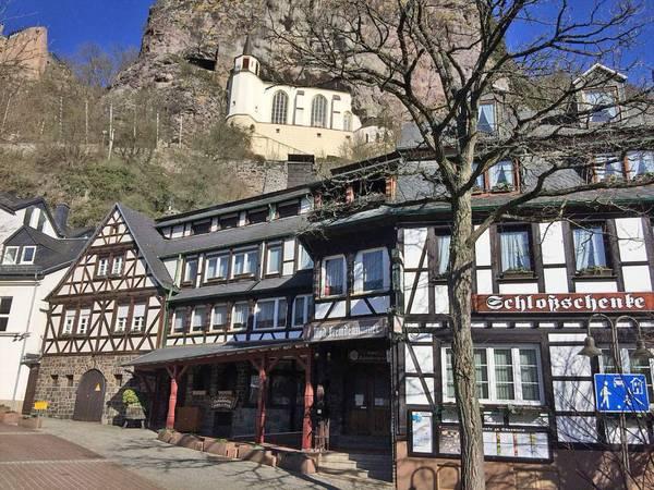 Hotel Restaurant Schloßschenke Oberstein - Вид снаружи