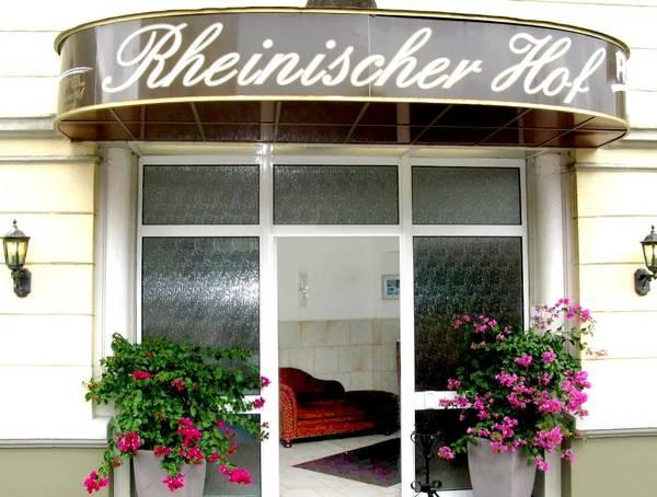 Hotel Rheinischer Hof - Aussenansicht