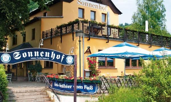Hotel Gaststätte Sonnenhof - Widok