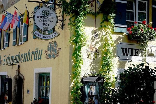 Wieninger Schwabenbräu - Aussenansicht