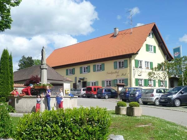 Landgasthof zur Post & Gästehaus Altes Schulhaus - Widok