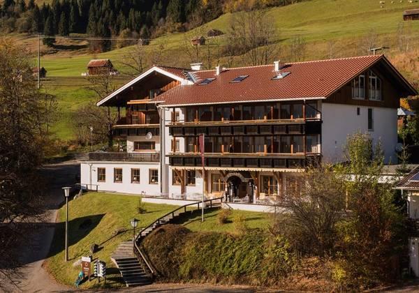 Alpenhotel Sonneck - Vista externa