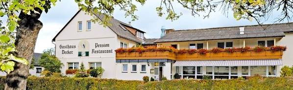 Gasthaus Pension Decker - Вид снаружи
