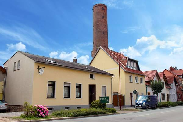 Pension Am Schrotturm - Exteriör