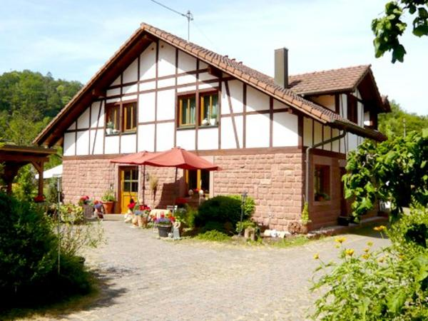 Fewo Haus Wiesengrund - Aussenansicht