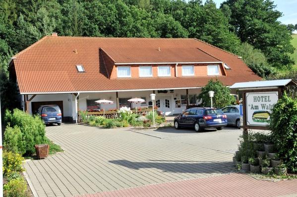 Landhotel Am Wald - pogled od zunaj