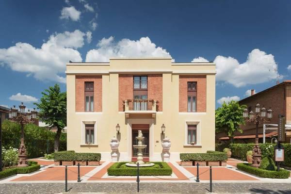 Hotel Residence San Gregorio - Aussenansicht