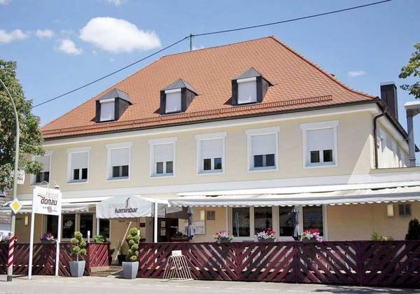 Hotel Donau - Vista externa